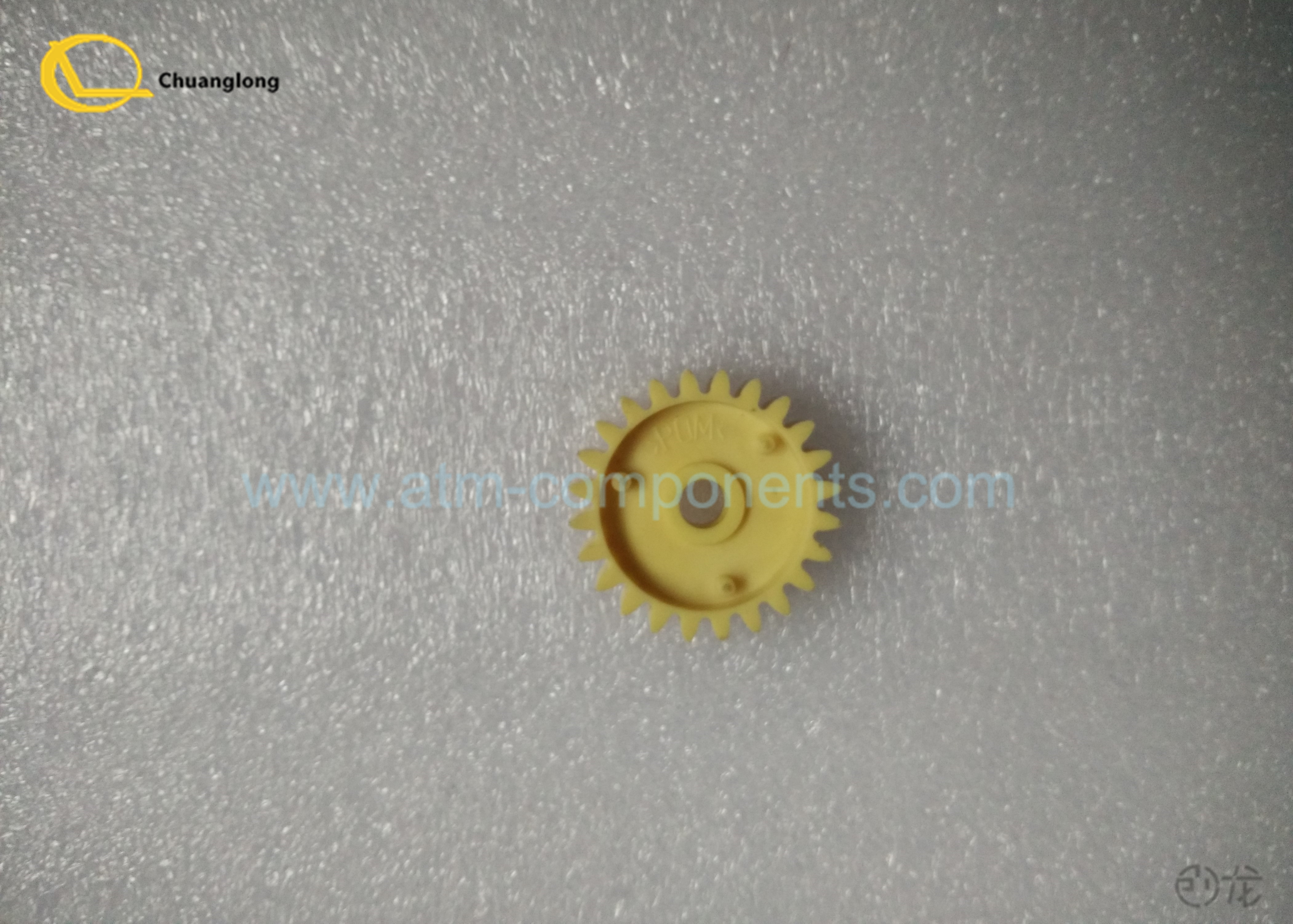 Small Refurbished ATM Spare Parts Round Shape 1750056651 - 16 P / N Number
